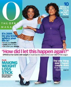 Me 'n Oprah… thick as thieves