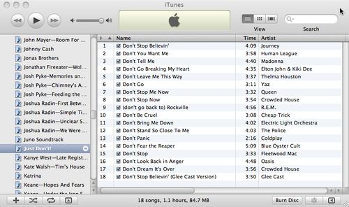 Just do it! (or don't): the guide to making the best unintentional iTunes mix ever