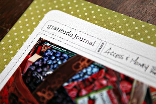 Layout share: Gratitude Journal
