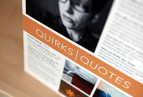 Quirks and quotes: an authentic way to tell a story