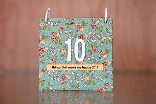 Project File: The 10 Things Mini-Album