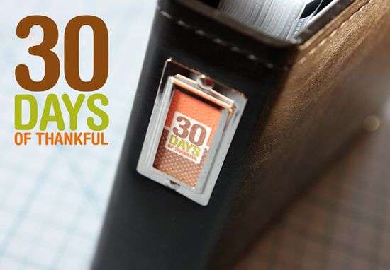 30 Days of Thankful: Share-a-Page Fridays