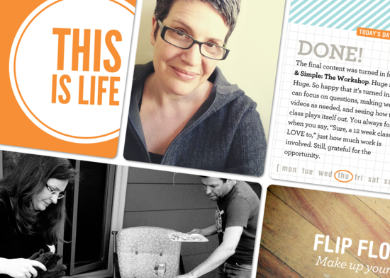 Project Life, Week Seventeen—Dipping my toe into the digital pool?
