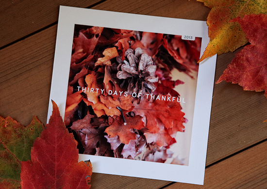 30 Days of Thankful Video Tutorial Series +  a special kit offer from Studio Calico