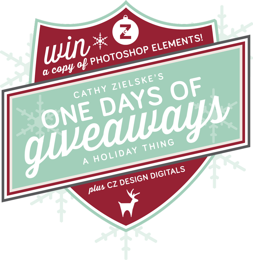 Introducing the One Days of Giveaways! A new CZ Design holiday tradition (at least for this year)