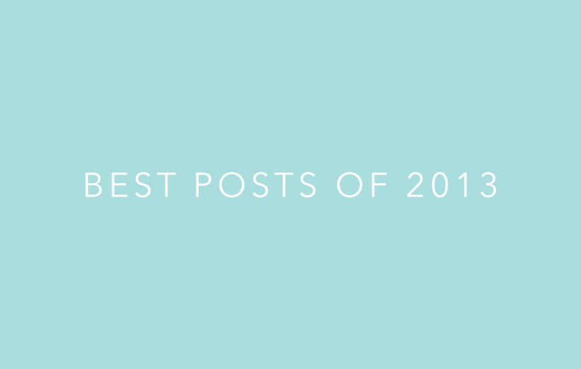 Best of 2013 as decided by a panel of me