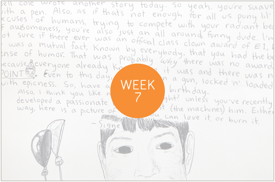 Project Life, Week Seven + a free privacy label for kid, teens & families