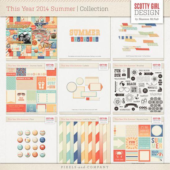 Sponsor Giveaway: win a digital kit from Scotty Girl Design