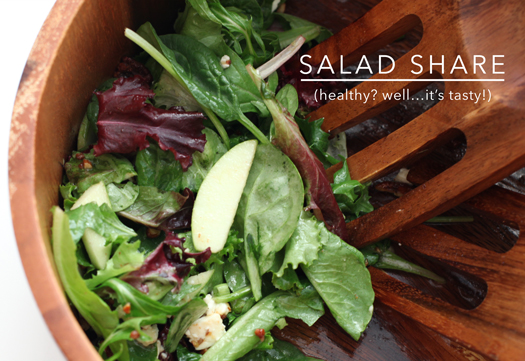 I'm no foodie, but…this salad rocks pretty hard