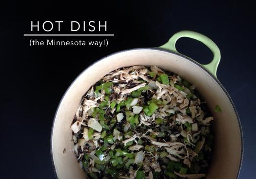 I'm no foodie, but… hot dish holla!