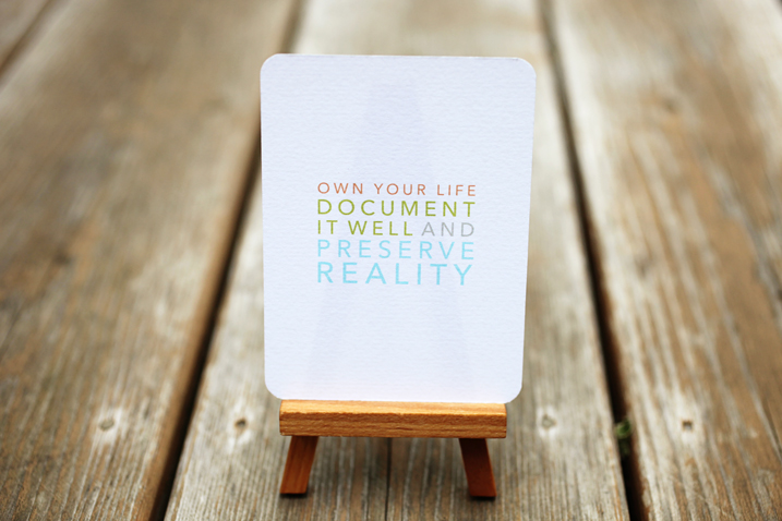 Free Card Printables: Own Your Life
