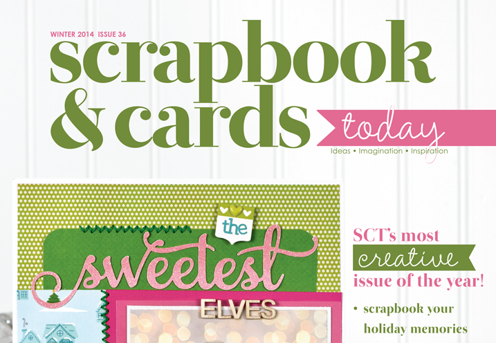 cathyzielske.com | the new issue of scrapbook & cards today