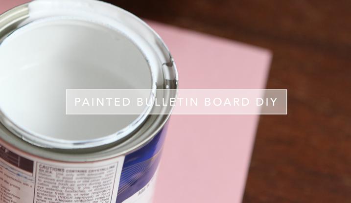 cathyzielske.com | DIY Painted Bulletin Board