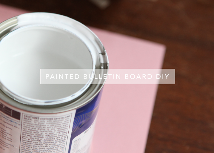 cathyzielske.com | DIY Painted Bulletin Board