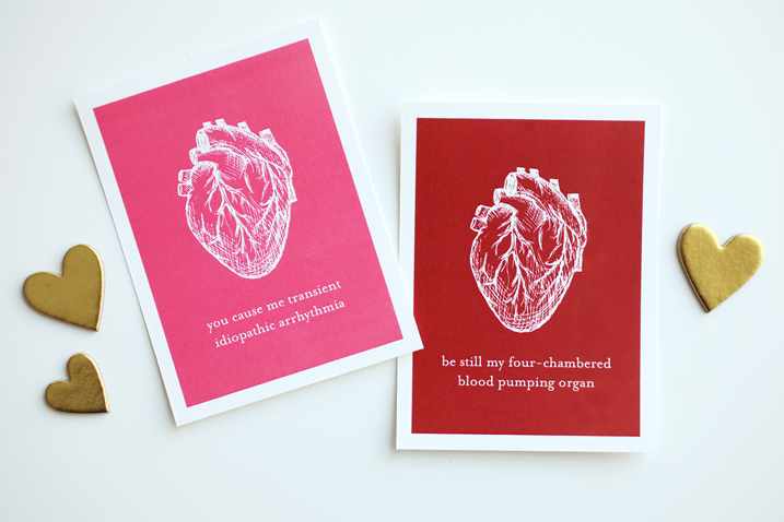 Free Valentine's Day printables for you