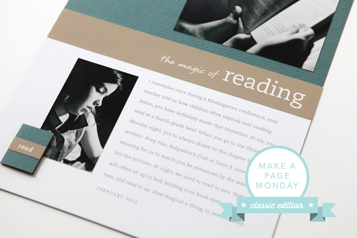 cathyzielske.com | make a page monday classic edition