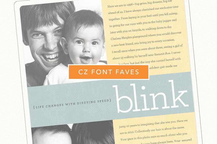 CZ Font Faves: Archer