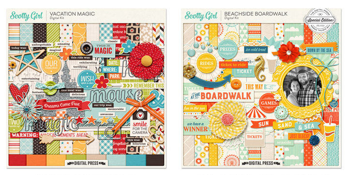Sponsor Giveaway: Disney Inspired Kits from Scotty Girl Design