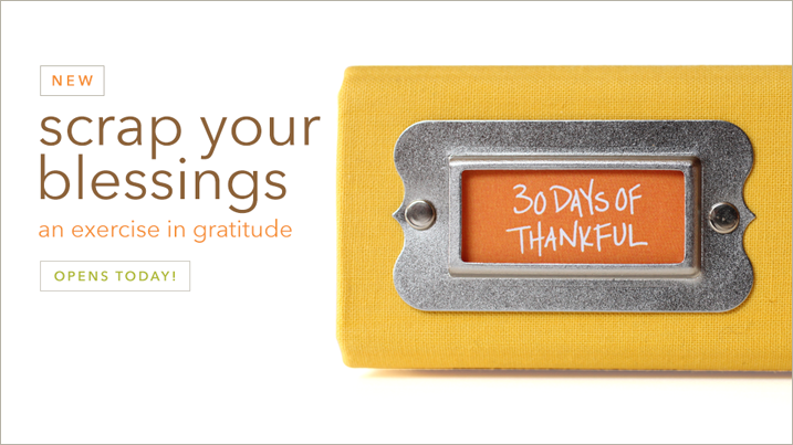 30 Days of Thankful 2015 is live!