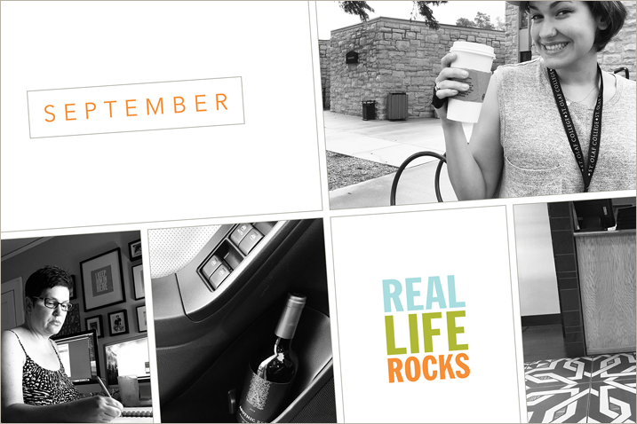 Project Life Pages for September 2015 + a 30 Days of Thankful Giveaway