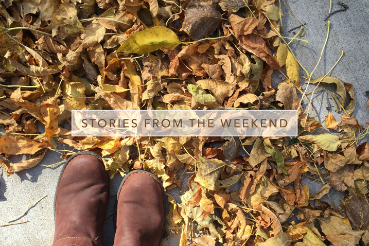 Stories from the Weekend