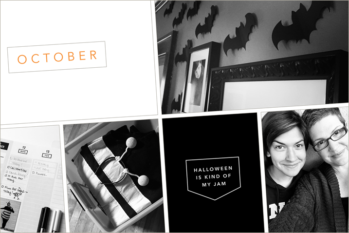 Project Life for October 2015