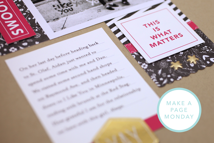 Make a Page Monday—A Hybrid Layout using 3 x 4 Cards as Inspiration