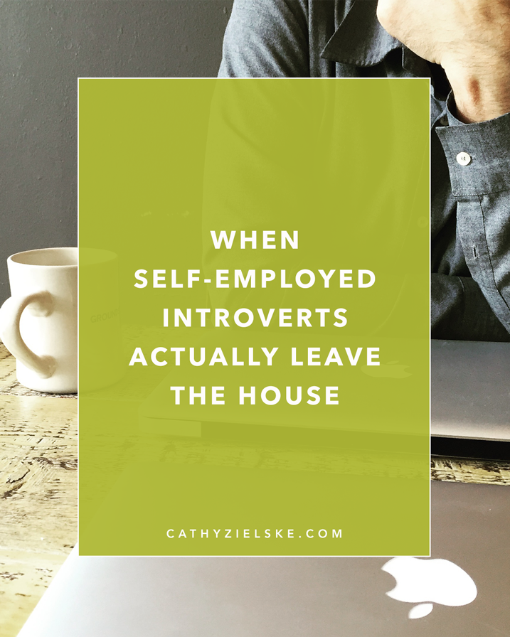 A little story about how self-employed introverts should get out from time to time.
