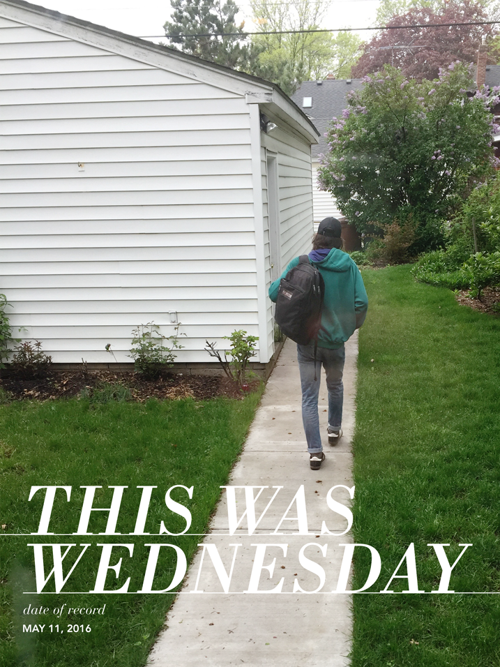 Week in the Life is a project created by my dear friend Ali Edwards. I'm joining in this year in a very stripped down, minimal way. Click through to see my Wednesday pages.