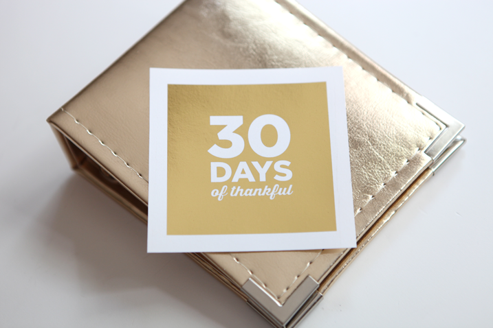 30 Days of Thankful start tomorrow! Want a free digital stamp for social media shares?