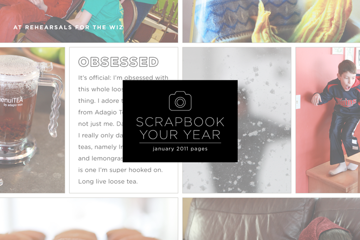 Scrapbook Your Year, how to document your life one month at a time in 30 photos or less, is now open for registration. Click through to learn more.