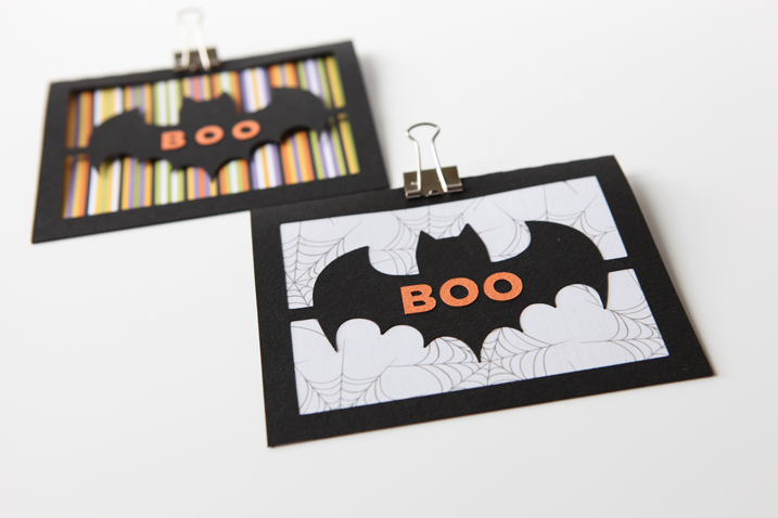 The Free Cut File To Make This Not So Scary But Charming Bat Card