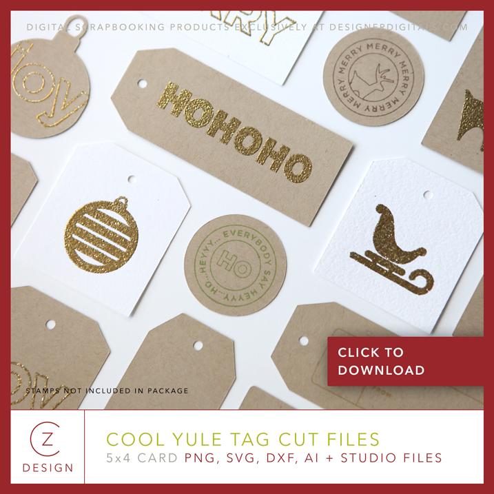 Download a free set of tag cut files from cathyzielske.com. Click through to download.