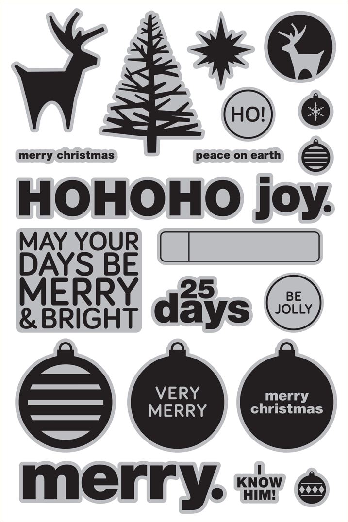 The CZ Design Holiday stamps are available for preorder now. Click through before Oct 14th to order yours!