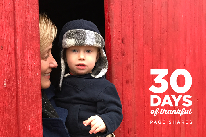 30 Days of Thankful with Cathy Zielske.