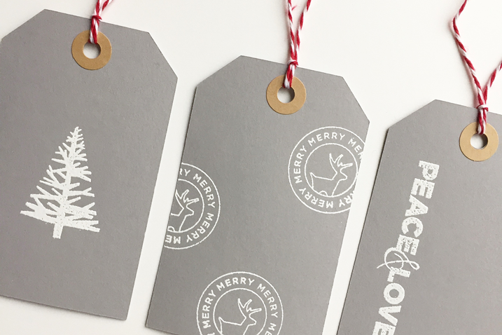 White Embossing Powder: It's all the rage! (Plus a free tag download)