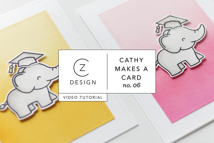 Cathy Makes a Card 06: Graduation Card