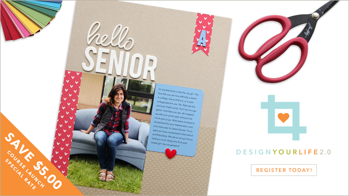Register today for Design Your Life 2.0!