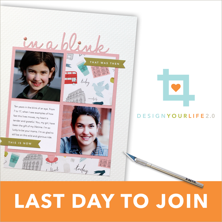 last day to register for design your life 2.0