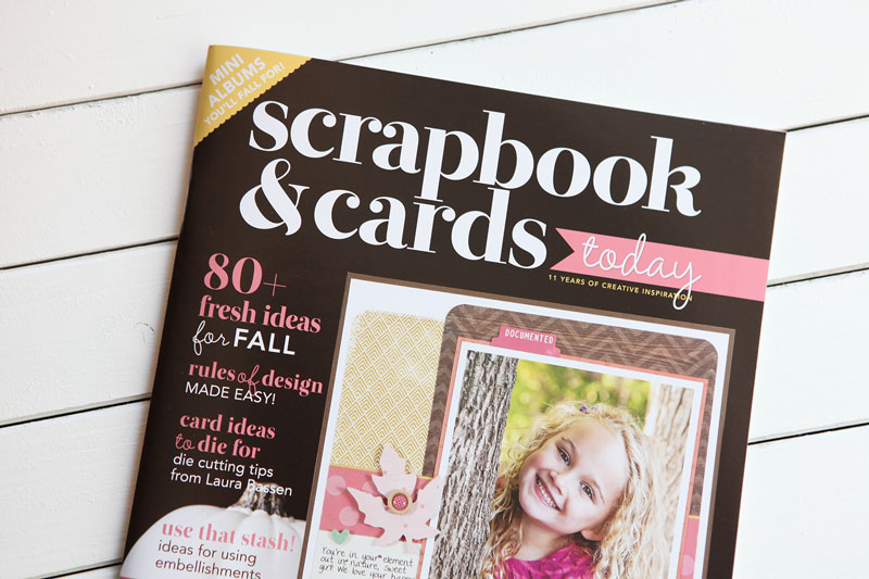 The fall issue of Scrapbook & Cards Today is live