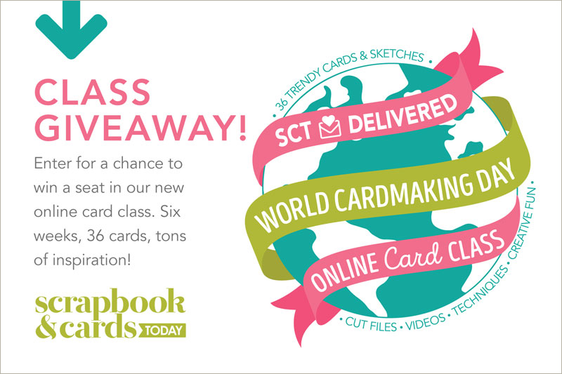 Happy World Card Making Day, Y?all! (+ a class giveaway!)