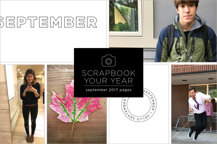 Scrapbook your year at cathyzielske.com!