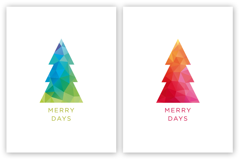 Free 3 x 4 Card Download: The Merry Card Series 03