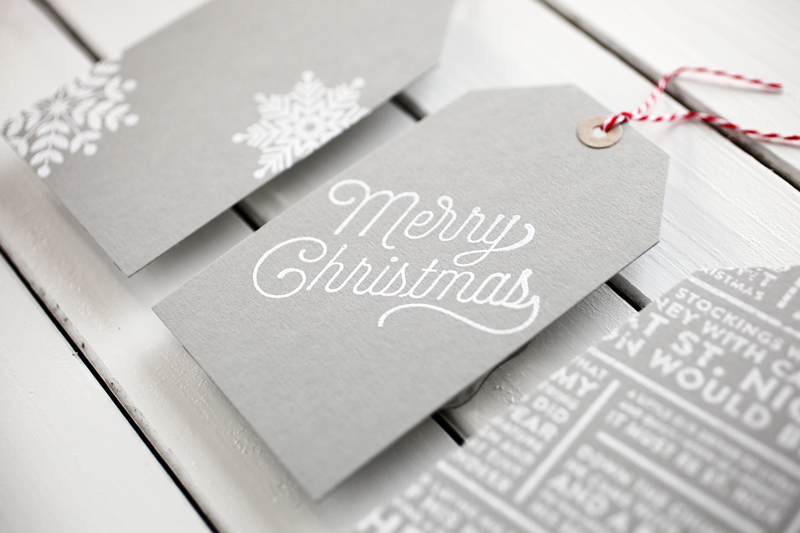 A Simple theme for holiday tags