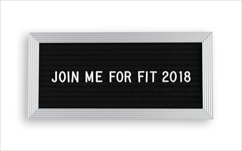 Join me for a year of self-care in Fit 2018