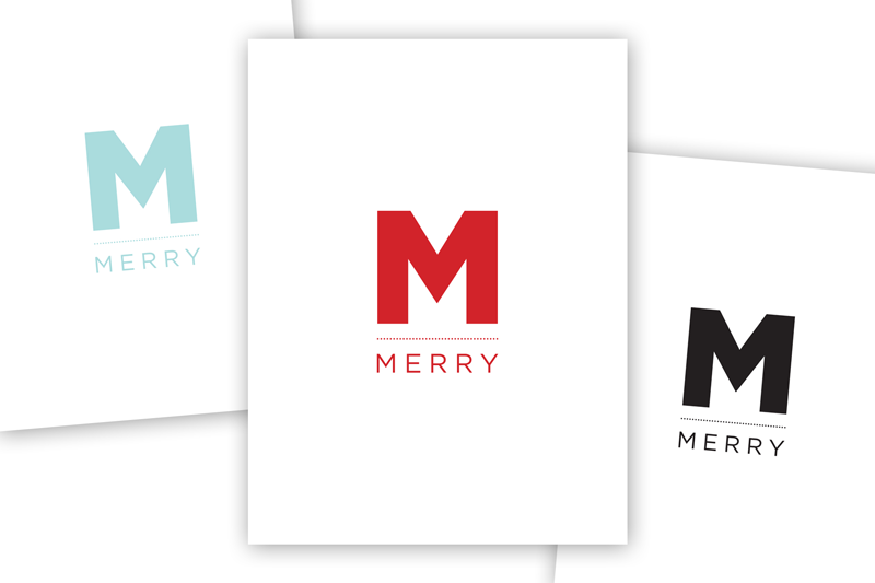 FREE 3 X 4 CARD DOWNLOAD: THE MERRY CARD SERIES 04