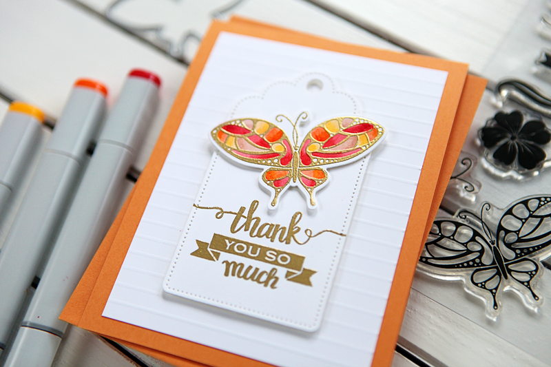 Card Video: Made with Love by Gina K Designs (a gorgeous set and an imperfectly perfect card share)