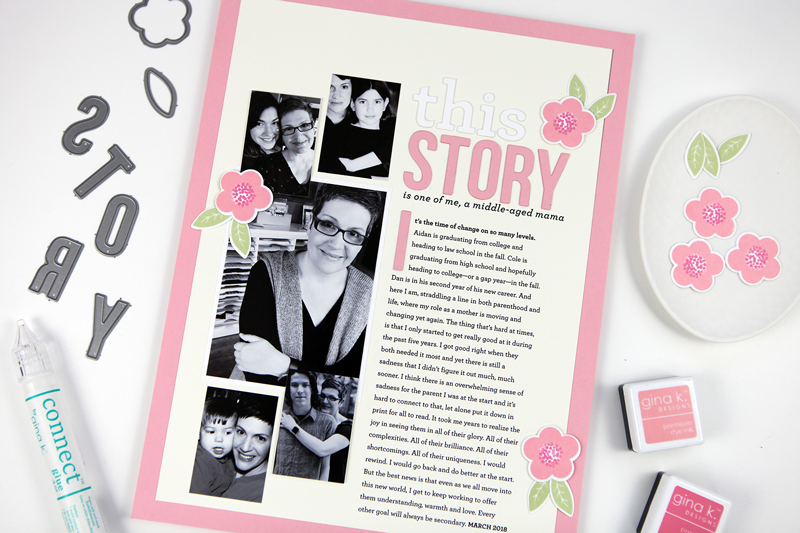 Pixel to Page: This Story (Hybrid Scrapbooking Process Video)