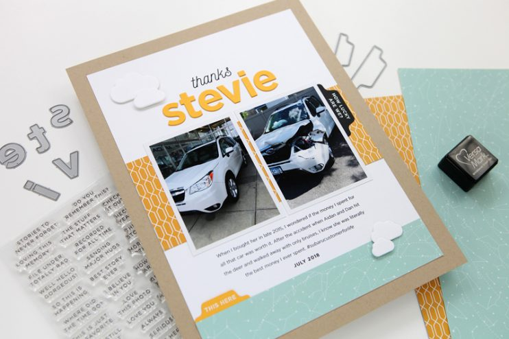 Clean and simple scrapbooking at cathyzielske.com