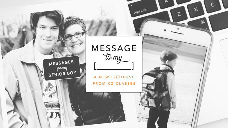 Introducing Message to My… a new e-course from CZ Classes